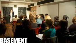 poetry cafe basement